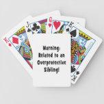 relacionado con sibling.png sobreprotector baraja de cartas