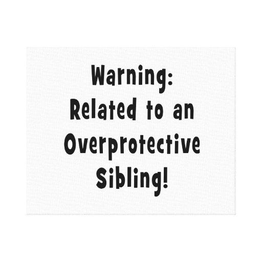 relacionado con sibling.png sobreprotector impresión de lienzo