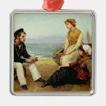Relacionar sus aventuras, 1881 adorno de navidad