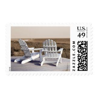 Relajación de la playa sellos