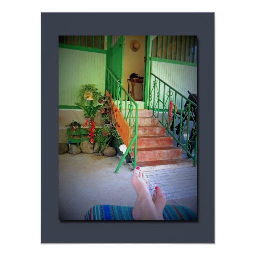 Relajación en Cahuita Póster