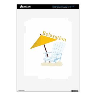 Relajación iPad 3 Pegatinas Skins