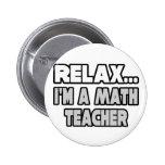 Relaje… al profesor de matemáticas pins
