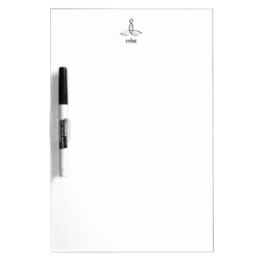 Relaje - el estilo sánscrito negro tableros blancos
