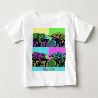 Relaje - el gato del arte pop camisas