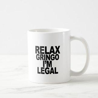 RELAJE el png del GRINGO… Taza Clásica