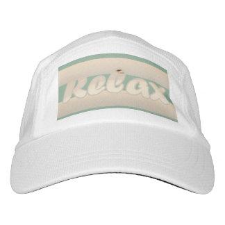Relaje el verde gorra de alto rendimiento