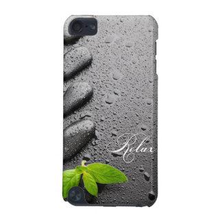 Relaje el ZEN Stone con las hojas de menta Funda Para iPod Touch 5G