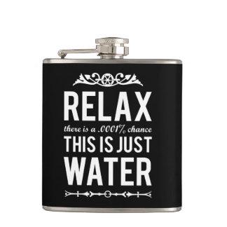 Relaje esto es apenas agua