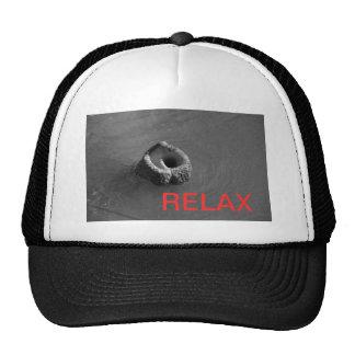 relaje la gorra de béisbol