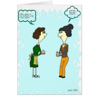 Relaje la tarjeta del día de madre