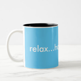 Relaje la taza de café