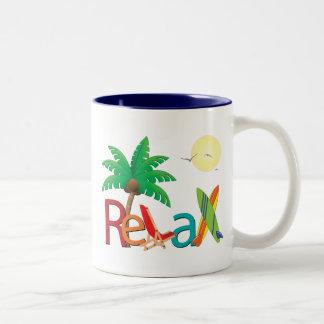 ¡Relaje la taza - personalizar!