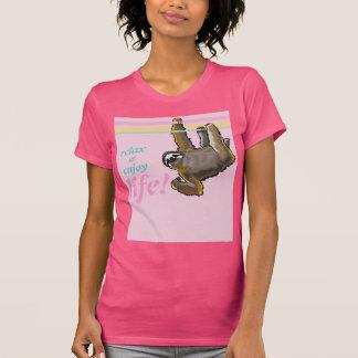 relaje y disfrute de la vida camisetas