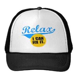 Relájeme puede fijarlo los gorras