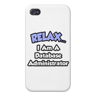 Relájeme… son un administrador de base de datos iPhone 4 protectores
