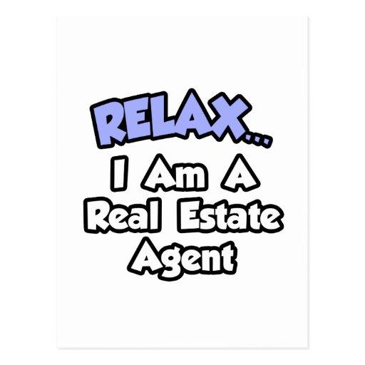 Relájeme… son un agente inmobiliario postal