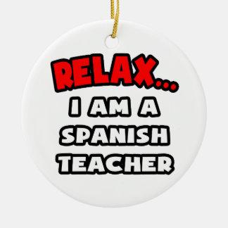 Relájeme… son un profesor español ornatos