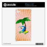 Relájese en la playa iPhone 4 skin