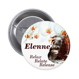 Relájese, relaciónese, Release_ Pin Redondo De 2 Pulgadas
