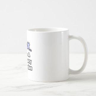 Relájese. Soy técnico de la farmacia Taza De Café