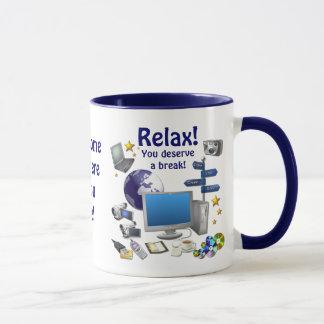 ¡RELÁJESE! Taza de café del campanero del ~
