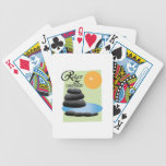 Relájese y Rejuvenate Baraja Cartas De Poker