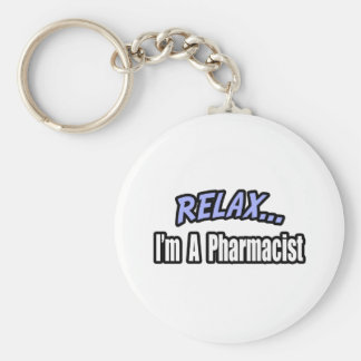 Relájese yo son un farmacéutico llavero