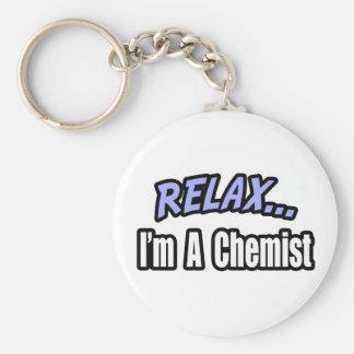 Relájese, yo son un químico llavero personalizado