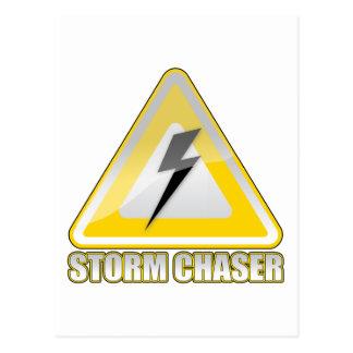 Relámpago 2 del cazador de la tormenta tarjetas postales