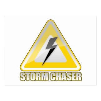 Relámpago 2 del cazador de la tormenta tarjeta postal