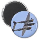 Relámpago a de Lockhhe P-38J Iman
