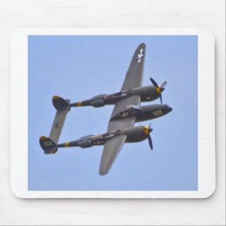 Relámpago a de Lockhhe P-38J Alfombrillas De Ratones