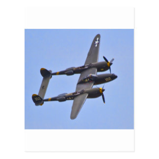 Relámpago a de Lockhhe P-38J Postales