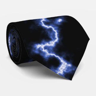 Relámpago azul corbatas