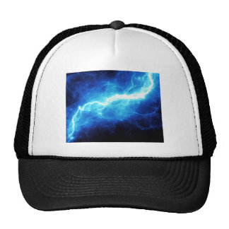 Relámpago azul gorra