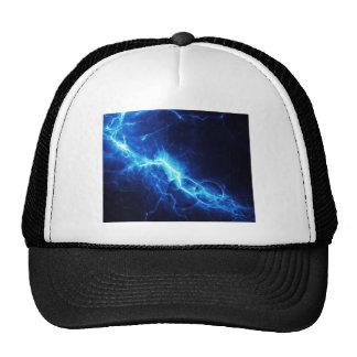 Relámpago azul gorras