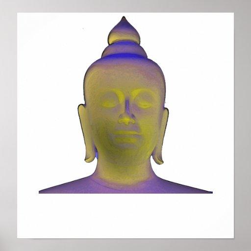 Relámpago Buda Impresiones