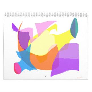 Relámpago Calendario De Pared