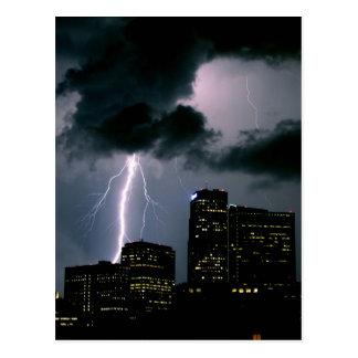 Relámpago de Denver Tarjetas Postales