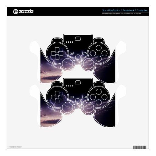Relámpago de la noche mando PS3 skin