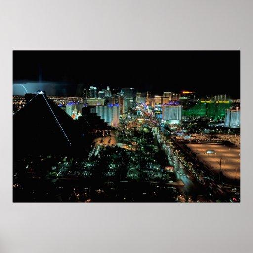Relámpago de Las Vegas Póster