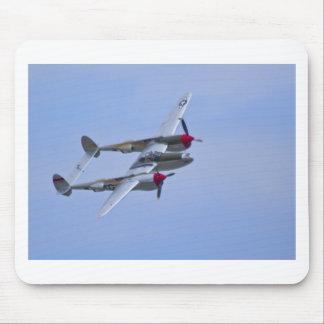 Relámpago de Lockeed P-38J Tapete De Raton