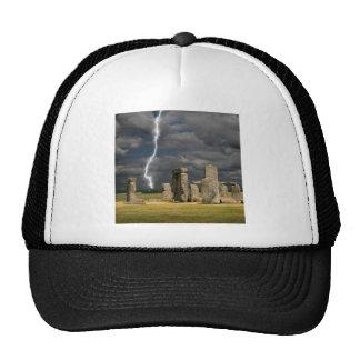 Relámpago de Stonehenge Gorro De Camionero