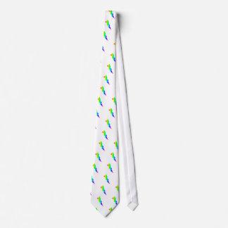 Relámpago del arco iris corbatas personalizadas