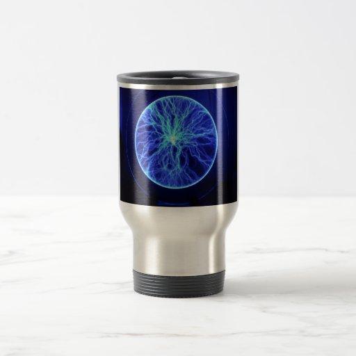 Relámpago eléctrico taza