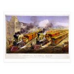 Relámpago expreso: Una escena americana del tren Postal