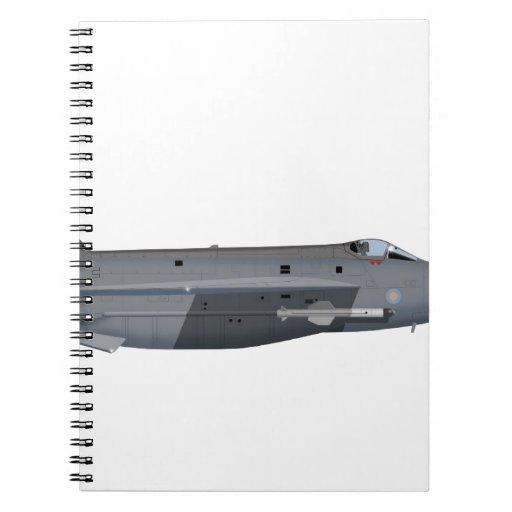 Relámpago F-6 441441 de English Electric Cuaderno