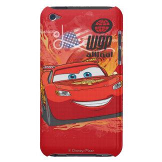 Relámpago McQueen - campeón de la taza del pistón Case-Mate iPod Touch Protectores