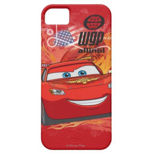 Relámpago McQueen - campeón de la taza del pistón iPhone 5 Case-Mate Cárcasas
